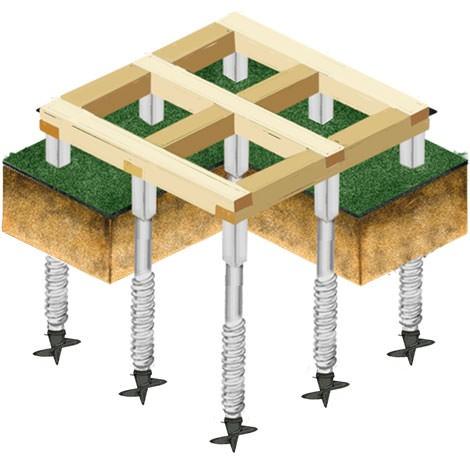 Почему целесообразно купить у нас винтовые сваи для установки фундамента